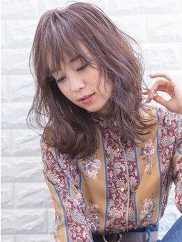 ブレラ ヘアー デザイン(Brella hair design)の写真/本当にいいものをお客様へ。ダメージは最小限に抑え、最旬の抜け感・ゆるふわ感で理想のスタイルが叶う♪