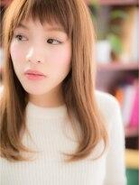 *+COVER HAIR+*…さらさら♪ストレート+短めバングc
