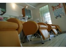 エレベーション(elevation)の雰囲気(妊婦さんに人気のシャンプー台の椅子でリラックス~)