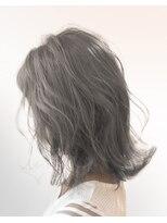 オーブ ヘアー レーン 滋賀草津店(AUBE HAIR lean)【AUBE HAIR】グレージュレイヤー_セミディ
