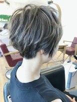 ヘアーサロン リアン 鴻巣店(hair salon Rien)ショート☆デザインカラー