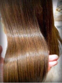 ルッソカナン(Lusso canaan)の写真/【リピーター続出!!髪質改善トリートメント】髪のダメージを諦めて切ってきた方も…是非一度体感してみて☆