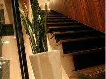 サフリック ヘアアンドビューティー スパ(safric hair&beauty spa)の雰囲気(烏丸通りスグ。階段を上がるとアロマのよい香りがお出迎え…)