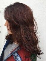 リゾートフォーヘアー 嵯峨店(ReSORT FOR HAIR)Dark rose color
