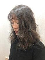 ヘアーアンドメイク ポッシュ 新宿店(HAIR&MAKE POSH)冬*グレーカラー