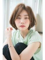 ジョエミバイアンアミ(joemi by Un ami)【joemi】小顔効果のある毛先パーマ丸みショート(小倉太郎)