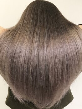 リゼル シブヤ(RISEL SHIBUYA)の写真/ここでしか出来ない自社開発トリートメントにオーダー殺到☆雨の日だってハイトーンの髪だって天使の艶髪に