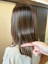 ナナナパレナ 梅田店(nanana parena)透き通るような髪色に*艶髪輝く透明デザインカラー♪
