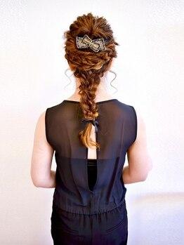 ヘアー キュート(hair CUtE)の写真/【卒業式や成人式は1ヶ月前から綿密にヘアの打ち合わせ実施】周りから褒められるレベルの高いセットも得意