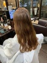 キャラ 池袋本店(CHARA)髪質改善とオレンジュ【オレンジュ/髪質改善/chara池袋/佐々木】