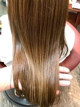 サンク 南堀江(cinq)の写真/【南堀江 四ツ橋/西大橋駅】<テーマは髪質改善>高濃度ケラチントリートメントで今までで1番の美髪が叶う♪