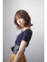 シアン ヘア デザイン(cyan hair design)【cyan】オシャレ可愛い 外ハネボブ