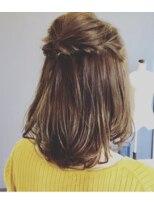 マド ヘア(mado hair)アレンジヘアー