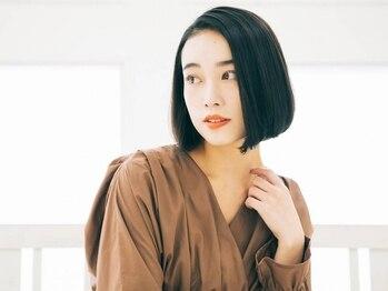 カイナ(CAINA)の写真/使用する商材にもこだわり貴方に合ったヘアケアを!髪の表面だけではなく内側から補修し美しい潤ツヤ髪へ。