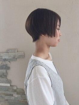 ヴァルチェティリ(valucetiri)の写真/《似合う×小顔魅せ☆》再現性の高いハイセンスでオシャレなショートで立体感のある好印象なStyleに♪