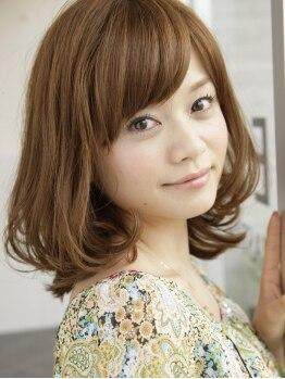 ゼル 上尾(ZELE)の写真/【上尾駅東口直結】一人ひとりの髪質や生えグセ、希望のスタイルに合わせたパーマMENUをご用意しています♪