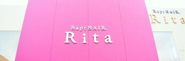 ラプトヘア リタ(Rapt. Hair Rita)のサロンヘッダー