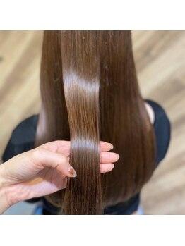 シャインヘアフラッペ 新百合ヶ丘2号店(Shine hair frappe)の写真/【髪質改善】資生堂が提案する最新の毛髪形状ヘアテクノロジー技術☆その名も《SUBLIMIC》サブリミック☆