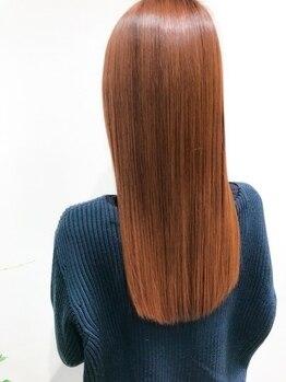 ソラス(SOLAS)の写真/お客様一人一人に合わせた髪質改善メニューをご提案◎最先端のTRで貴方史上最高の髪質へ【千里山/関大前】