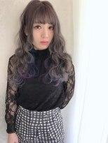 アリス ヘア デザイン(Alice Hair Design)Alice☆シアグレー×ブルーパープルグラデーション