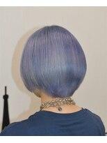 ヘアーサロン エール 原宿(hair salon ailes)(ailes 原宿)style349 ターコイズブルー☆エアリーショート