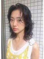 マグノリア オモテサンドウ(MAGNOLiA Omotesando)黒髪さんにおすすめ!ウェーブパーマ