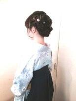 アビリティ ヘアー(ability hair)蒲田 abilityhair 卒業式フェミニンアップ