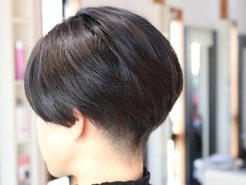 オーガニックサロン ナチュラル(OrganicSalon natural)の写真/再現性の高いドライカットで毎日のスタイリングも簡単♪繊細なカットであなただけの理想のヘアを創ります!!