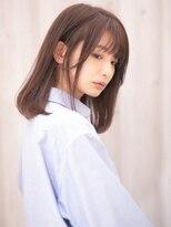 ケーツー 京都店(K two)K-two京都/ナチュラル大人ミディアムヘアー/四条烏丸御池
