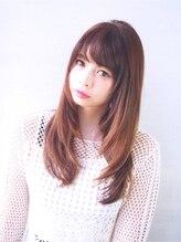 ヘアーサロン ノーヴェトウキョウ(Hair Salon Nove Tokyo)<Nove>3Dカラー×愛されストレートロング