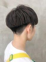 *黒髪 刈り上げベリーショート女子スタイル<徳竹>