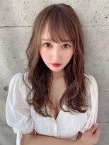アフロート ルヴア 新宿(AFLOAT RUVUA)小顔な透け前髪で可愛さもあり、綺麗さもある★お色気スタイル☆