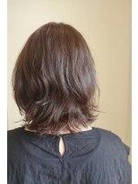 ユアーズ フォー ヘアー 郡山(Yours for hair)柔らかベージュカラー。パーマで軽やか幅広い年代にオススメ