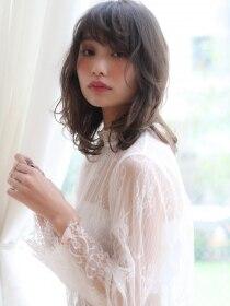 バイオレット 表参道店(Violet)大人かわいい小顔ひし形マッシュウルフセミディデザインカラー