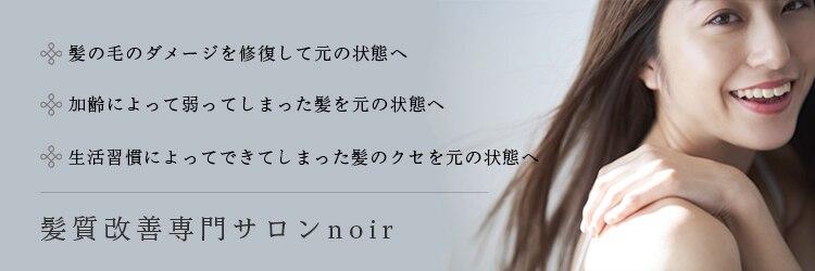 ノイル(noir)のサロンヘッダー