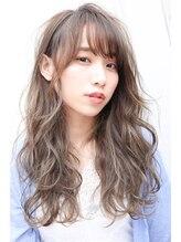 ヘアステージ ラヴァフロー(Hair stage Loverflow)アッシュ系カラー×ハイライトミックス