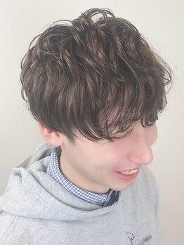 キルン (Hair salon kilun)の写真/簡単なスタイリングでかっこよくきまる再現性