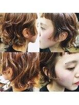 コレット ヘアー 大通(Colette hair)ショートバング×ショートウェーブ