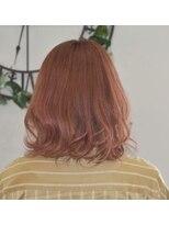 ヘアーサロン エール 原宿(hair salon ailes)(ailes 原宿)style358 ピンク☆ひし形シルエット