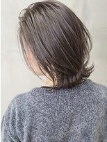 ソース ヘア アトリエ 京橋(Source hair atelier)【SOURCE】プラチナグレージュ