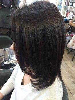 ヘアドゥアイザワ(Hair-do AIZAWA)の写真/憧れの美髪に大変身!!感動レベルと好評☆毛髪改善オリジナルWカットでお悩み解消◎お手入れも簡単で綺麗に*