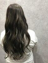 セブン ヘア ワークス(Seven Hair Works)[セブンヘア] イルミナアッシュ系カラー