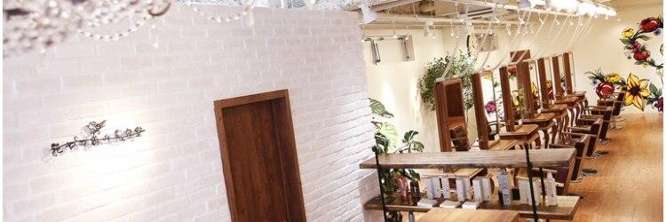 花やの前の美容室 中目黒のサロンヘッダー