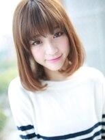 アグ ヘアー ナイン 東三国店(Agu hair nine)フリンジバング☆ツヤさらヘア