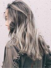 メロウ(MELLOW)【髪の赤みを消し去る】ブリーチハイライトブルーグレーアッシュ