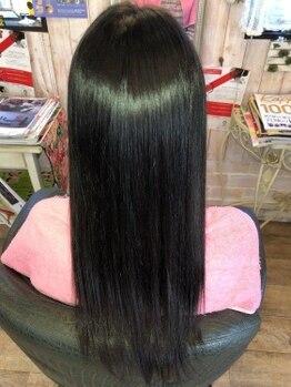 ヘアドゥアイザワ(Hair-do AIZAWA)の写真/オーガニック成分なので地肌に優しく貴方だけの似合わせカラーが叶う!ダメージレスで艶のある仕上がりに*