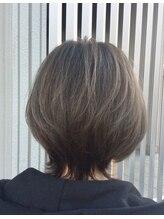 クレール ヘアーアンドスパ(Clair hair&spa)マッシュウルフ☆