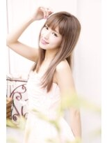 美容室ヘア マックス 鳥取店【美容室へアマックス 釧路】大人可愛い ベージュカラー ロング