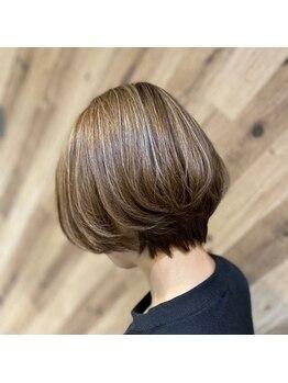 シャインヘアフラッペ 新百合ヶ丘2号店(Shine hair frappe)の写真/しっかりとカウンセリングをし1人1人にあったスタイルをご提案◇360゜どこから見ても決まるショートヘア