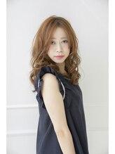 ルチア ヘア カバナ(Lucia hair cabana)甘めウェーブ 【Lucia hair cabana神戸元町店】
